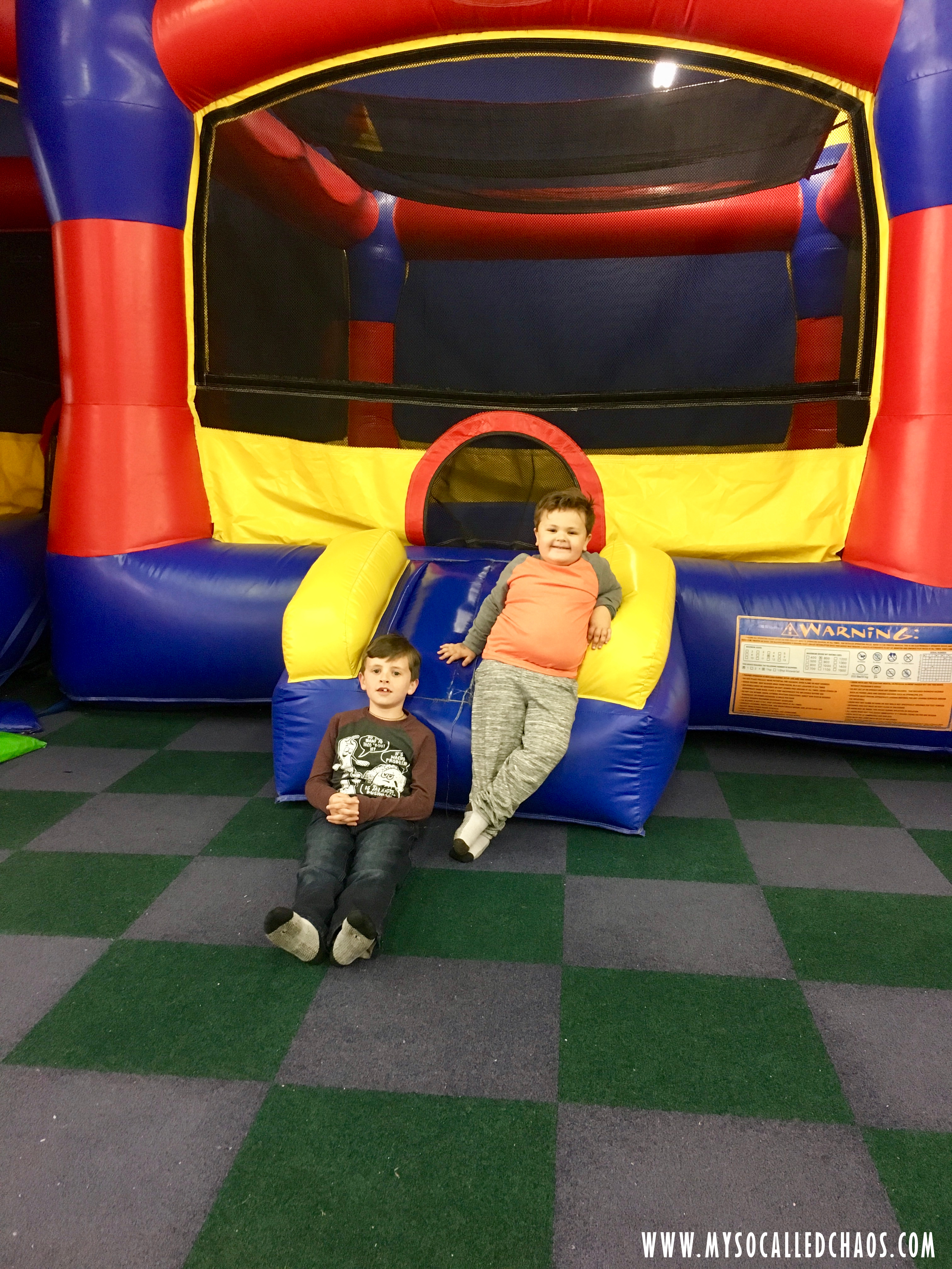 Bouncy House Fun at Jungle Jims