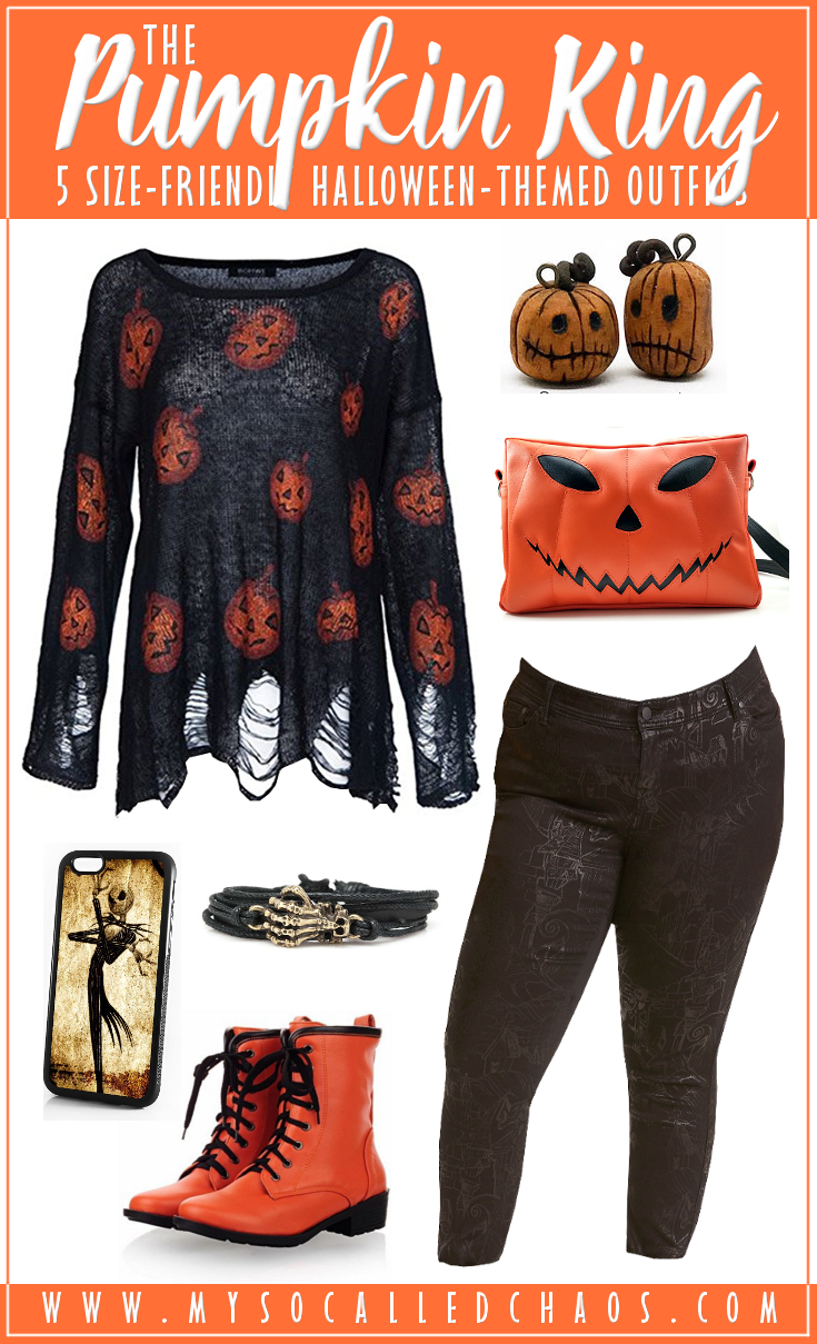 5 Size-Friendly Halloween-Inspired Outfits: The Pumpkin King