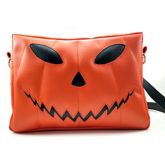 Pumpkin Head Purse