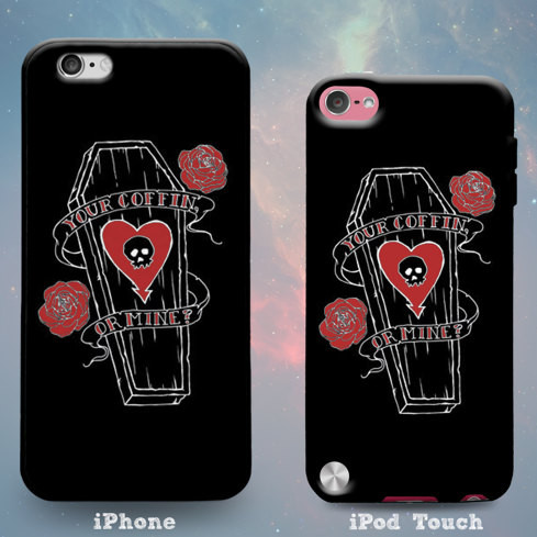 Your Coffin or Mine Phone Case