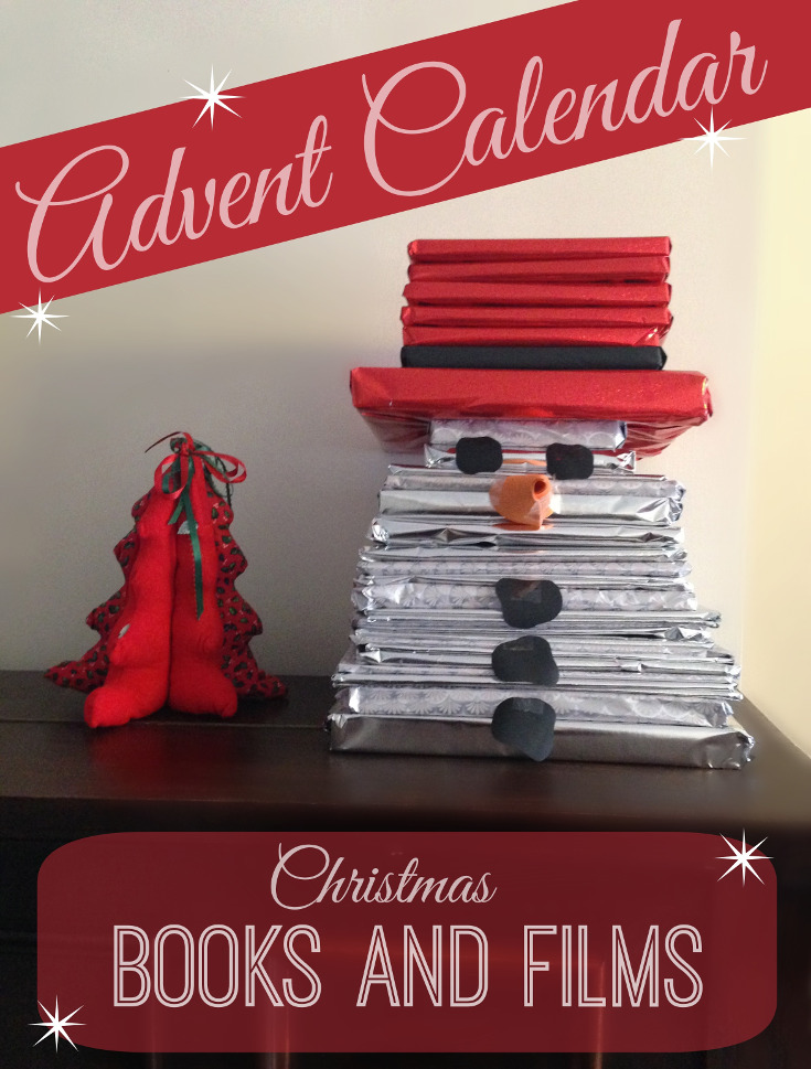 Snowman Advent Calendar with Books and Films