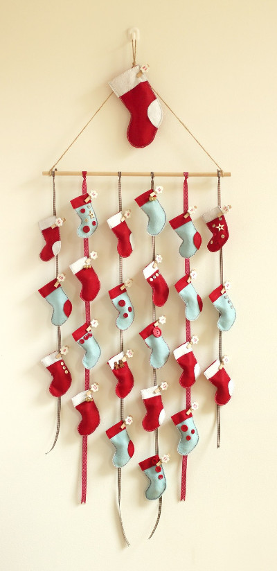 Hanging Stockings Advent Calendar