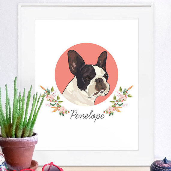 Unique Custom Pet Portraits