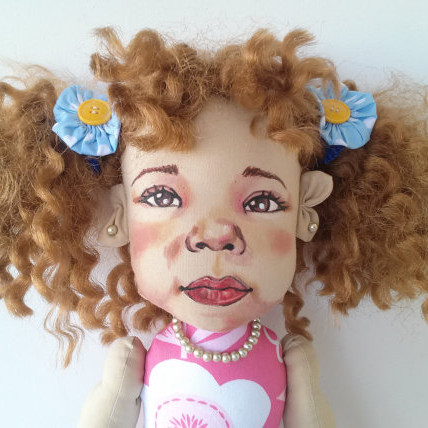 Custom Portrait Rag Dolls