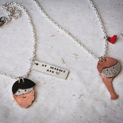 Personalized Cute Face Necklace
