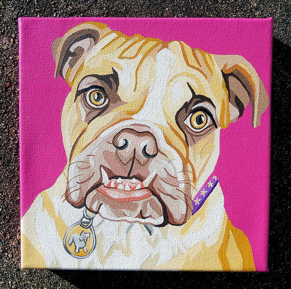 "8x8"" Custom Pet Portraits"