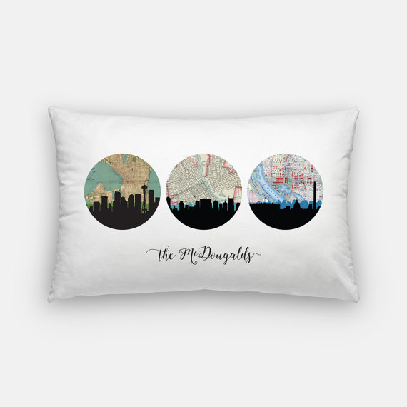 Choose Your Own Adventure Pillow
