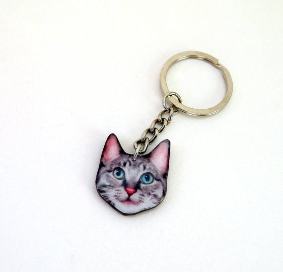 Custom Your Pet Keychain