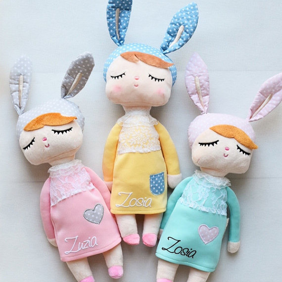 Personalized Bunny Doll