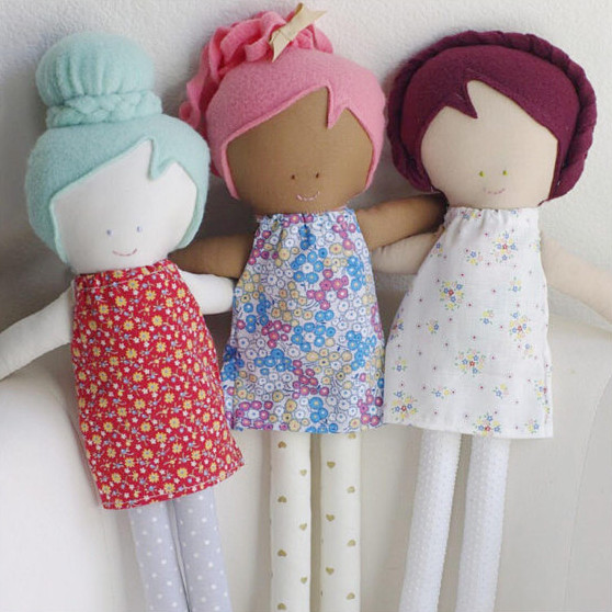 Custom Dolls from Hand Picked by Ruby