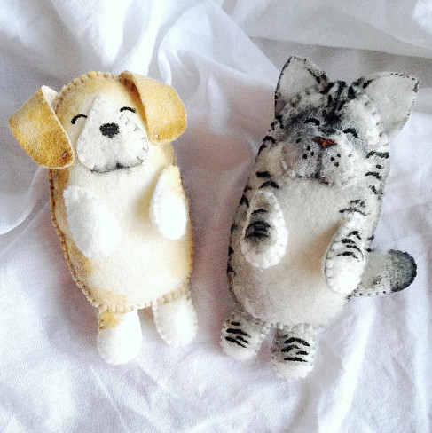 Personalized Pet Felt Toy