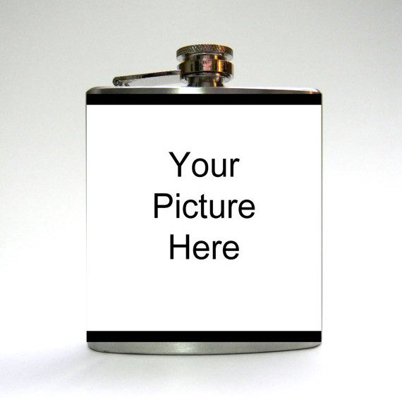 Custom Picture Flask