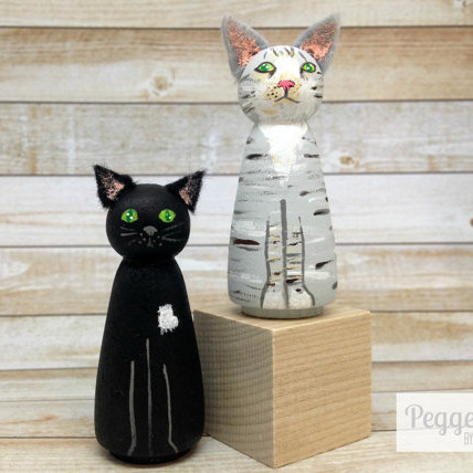 Custom Pet Peg Dolls