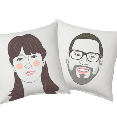 Couple Cushion Set