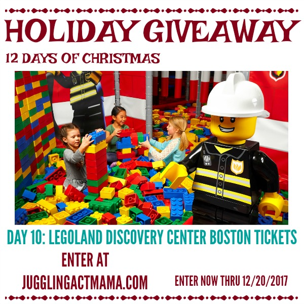 12 Days of Giveaways - Day 10: Legoland Discovery Center Boston Tickets