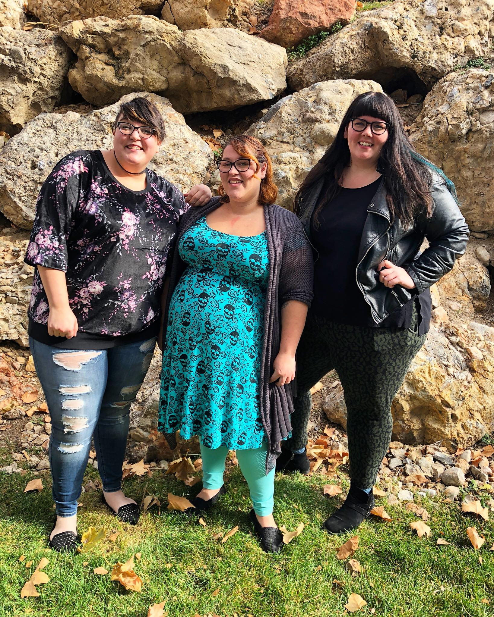 Hanging out with Becky and Stephanie of Fat Club Podcast