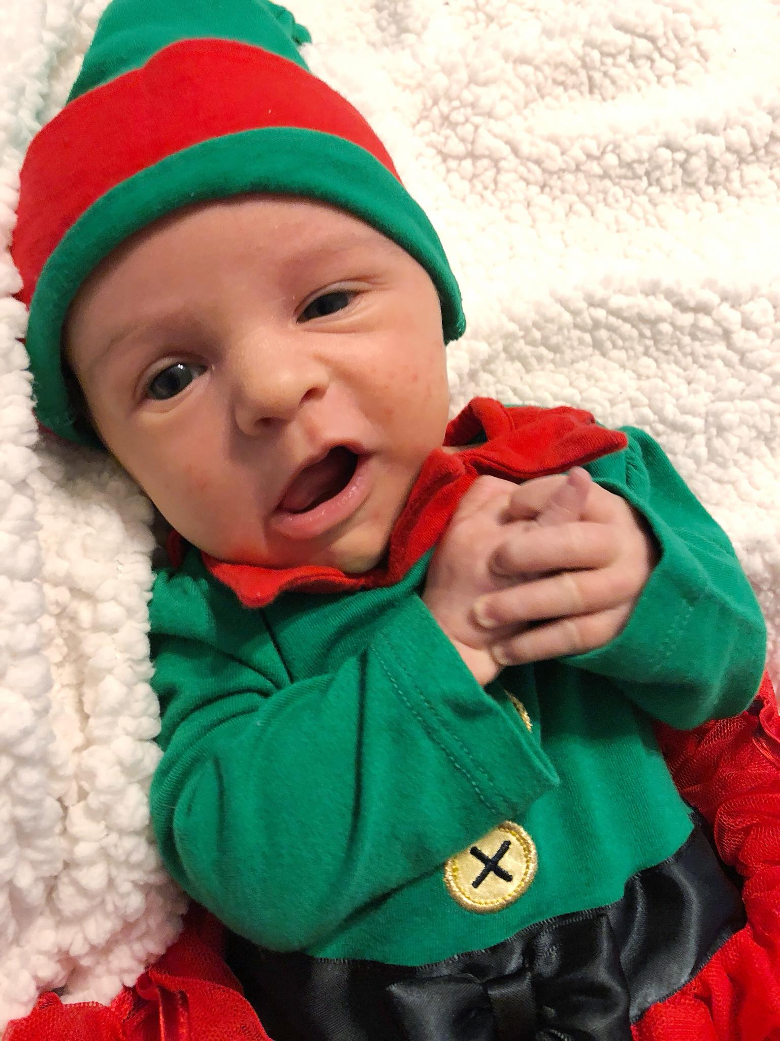 Baby Amélie the Elf