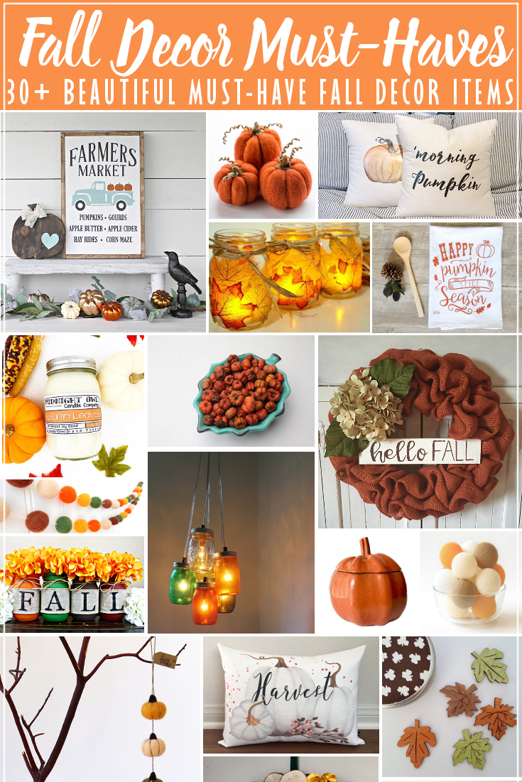 30+ Fall Decor Must Haves