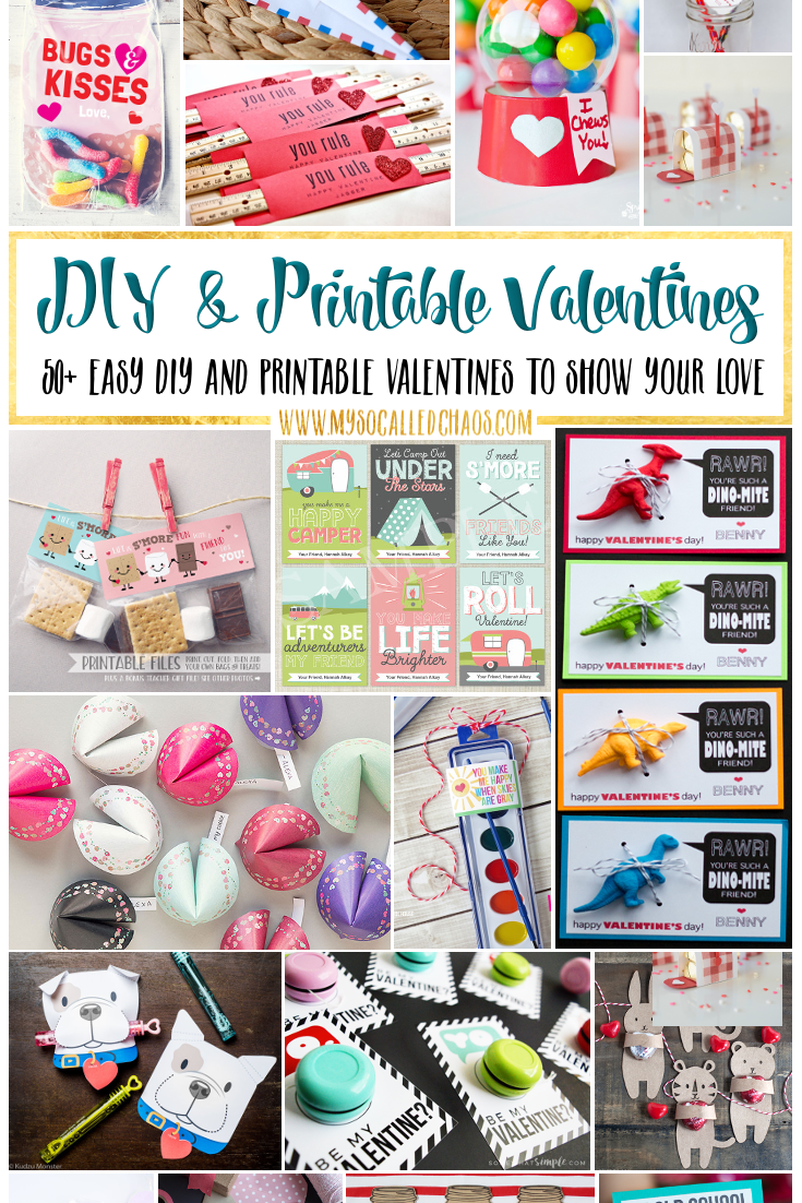 DIY & Printable Valentines
