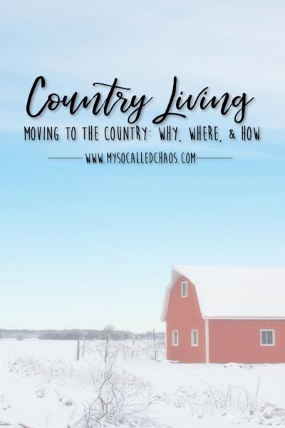 Moving to the Country: Why, Where, & How
