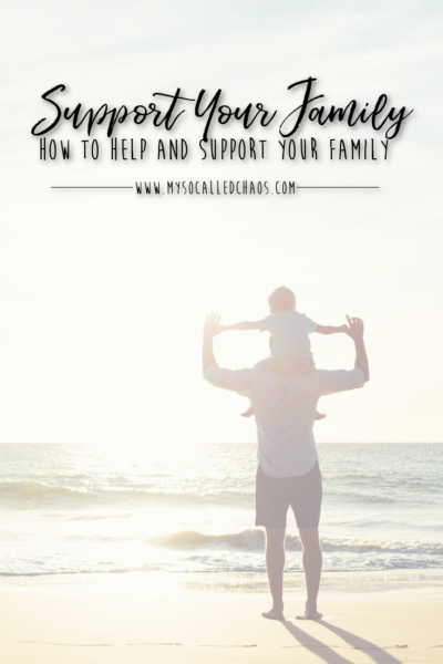 Helping and supporting your family is more than just financial, and it's more than just wanting to do your best. You need to follow through on promises, look after their health and well-being, and more... See how to better help and support your family here.
