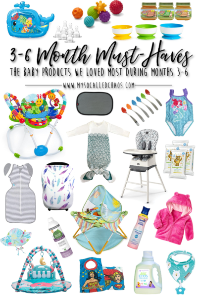 3-6 Months: Our Baby Must-Haves