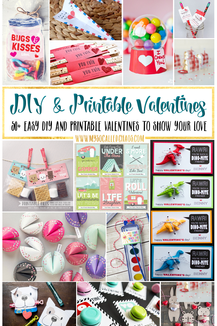 DIY and Printable Valentines