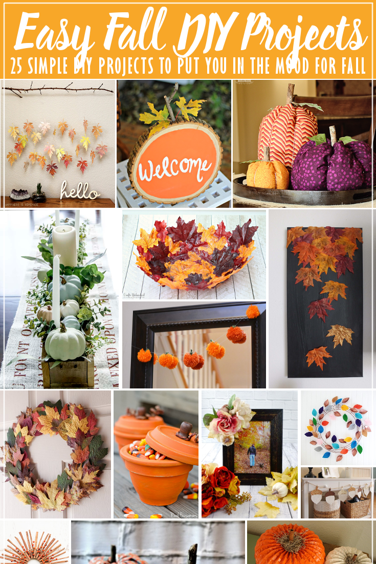 25 Easy Fall DIY Projects