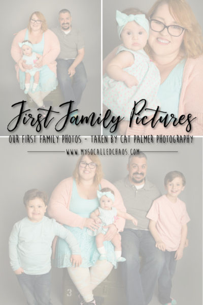 Our First Professional Family Photos