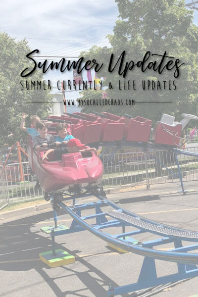 Summer Currently & Life Updates