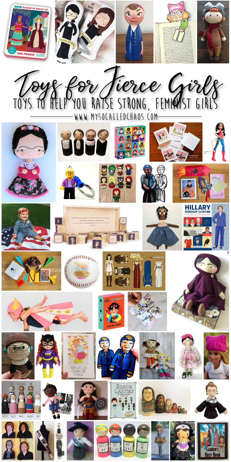 Feminist Toys for Raising Strong Independent Girls (& Boys)