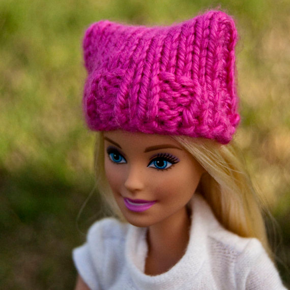 Pink Pussy Hat for Barbie
