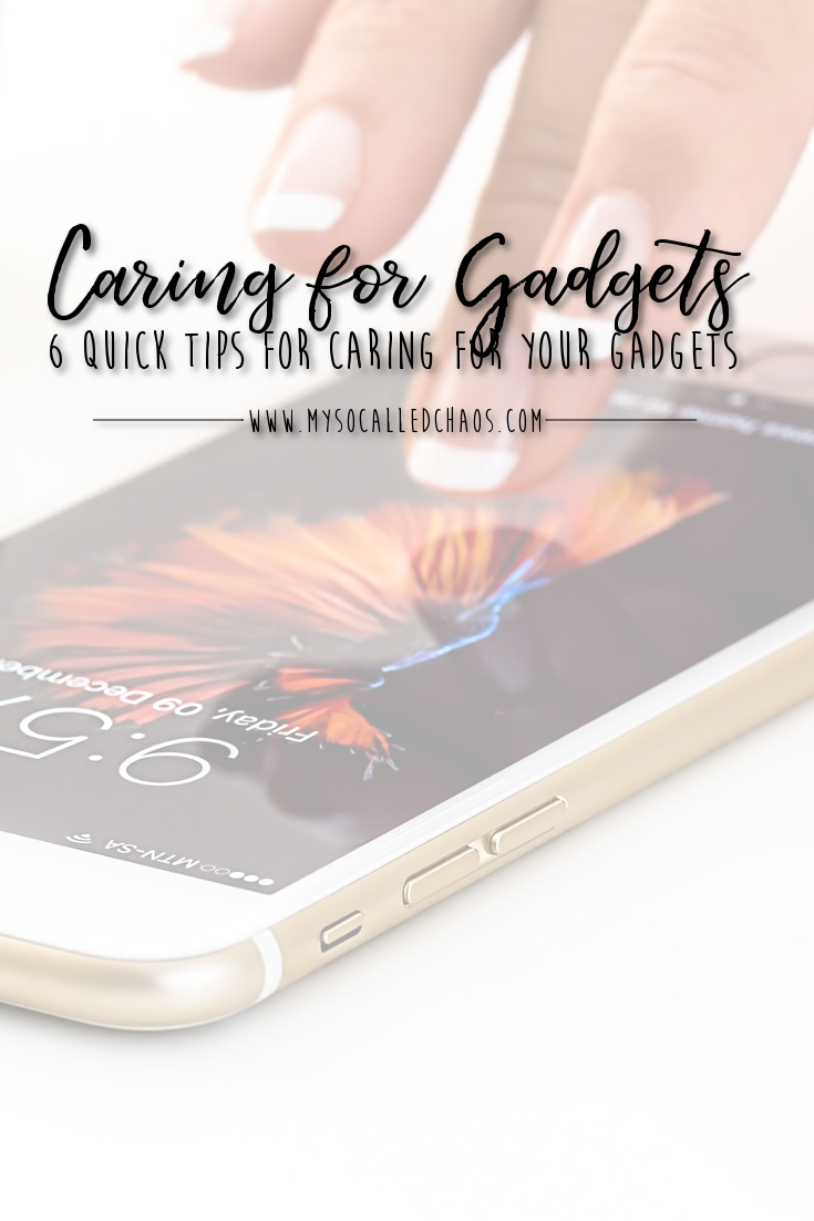 6 Quick Tips for Caring for Your Gadgets - Manicured fingers using an iPhone