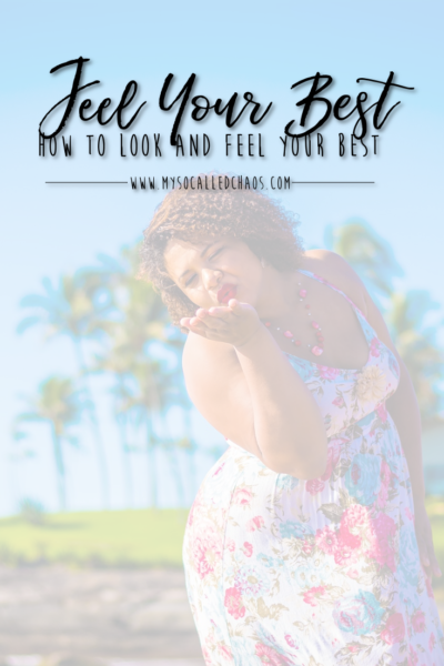 How to Look & Feel Your Best - image showing a plus size woman of color blowing kisses and looking fabulous