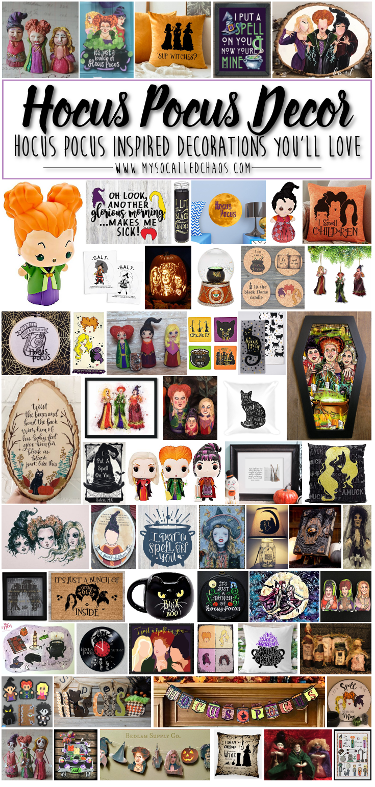 Hocus Pocus Decor You'll Love This Halloween