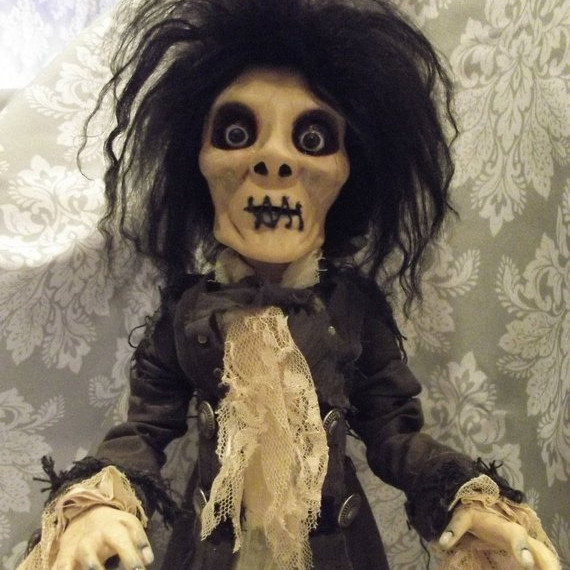 Billy Butcherson Hocus Pocus art doll from Clementine's Art Dolls