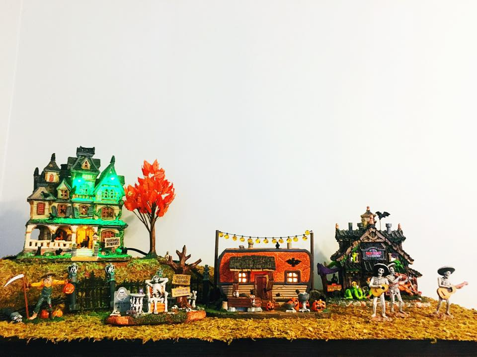 Our Halloween Village