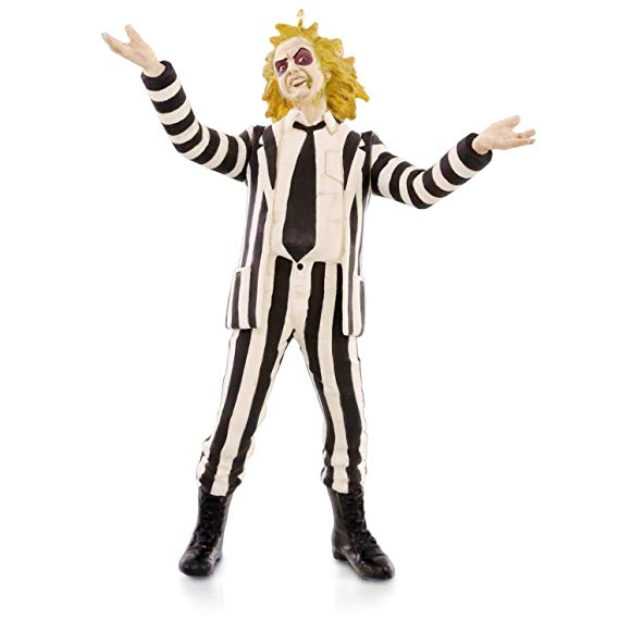 Beetlejuice Ornament via Amazon