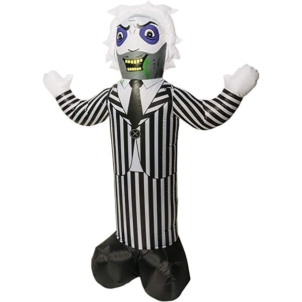 Morbid Enterprises Beetle Juice Lawn Inflatable via Amazon