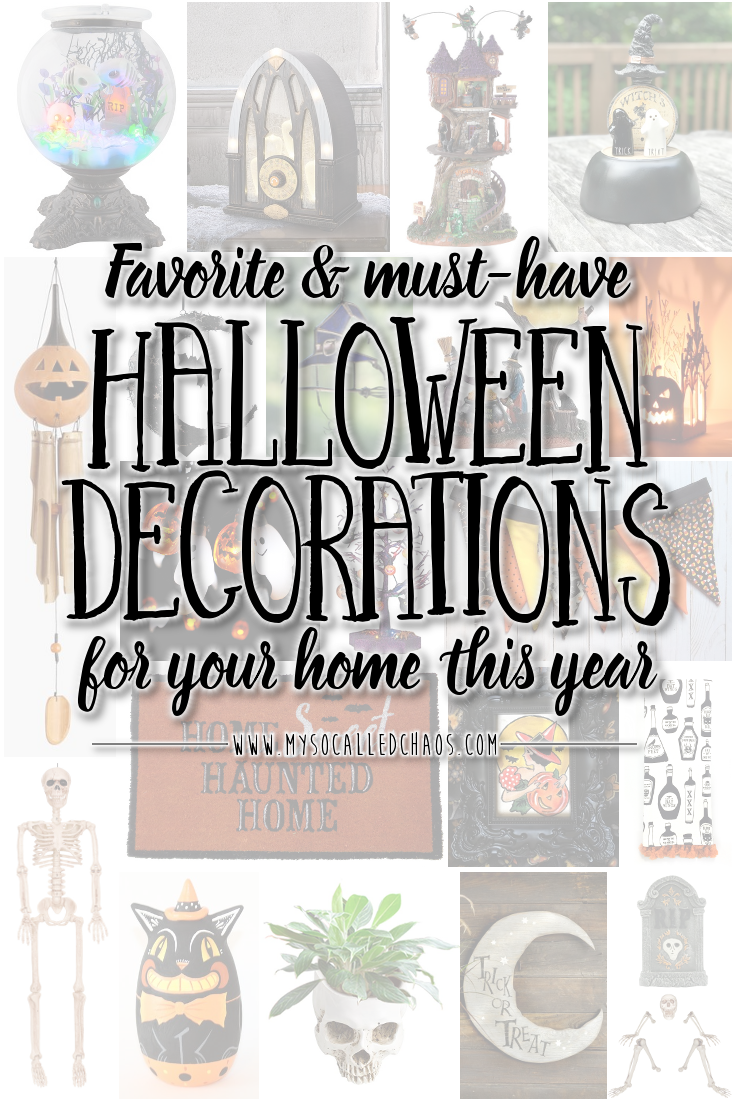 My Must-Have Halloween Decor This Year - halloween decorations