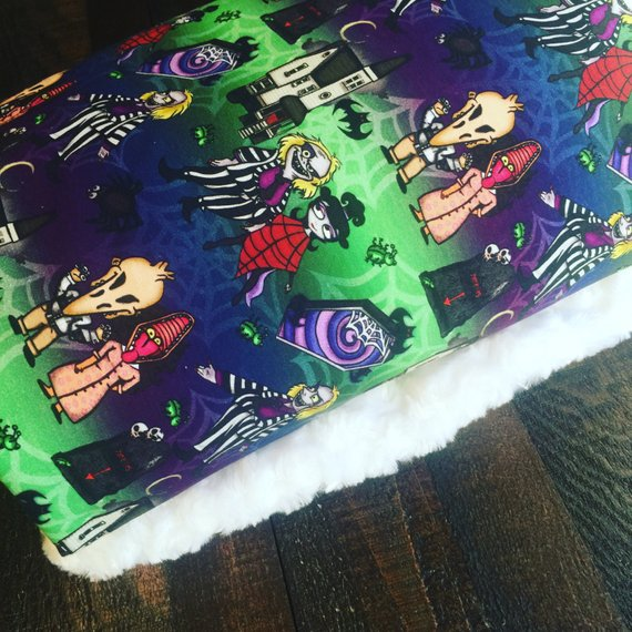 Beetlejuice Handmade Baby Blanket by SEWKILLER