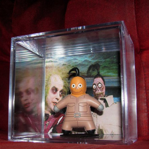 "Beetlejuice ""Shrunking Guy's Head's Display"" by You Made What on Etsy"