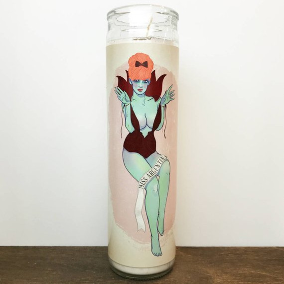Beetlejuice Miss Argentina Candle by Little Sister NC on Etsy