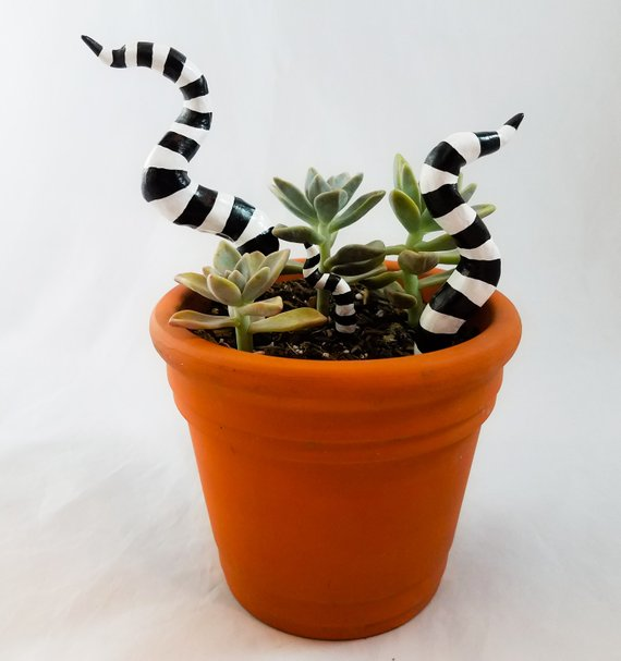 Sandworm Tails Plant Stakes by My Mixed Madness on Etsy