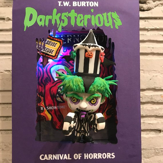 Goosebumps Beetlejuice Funko Pop Book by Behind the Keyhole on Etsy