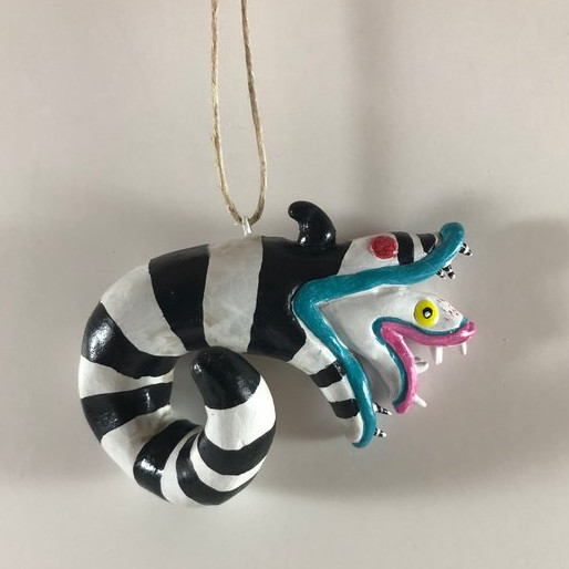Beetlejuice Sandworm Clay Pendant by Amber's Imagination Co