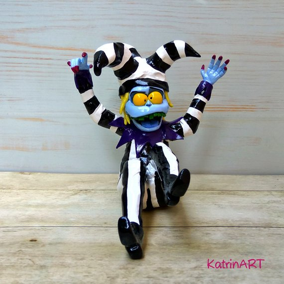 Beetlejuice Figurine by KatrinART