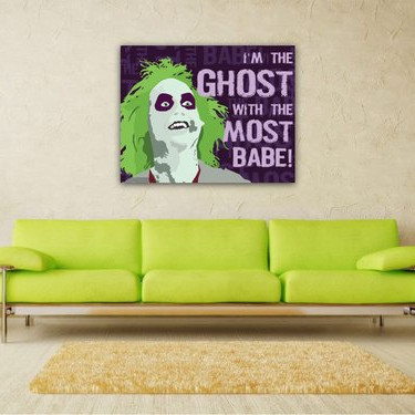 Beetlejuice Ghost with the Most Poster by Kate Kuhens Designs