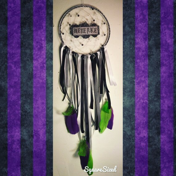 Beetlejuice Dream Catcher by Gypsy Dream Catching