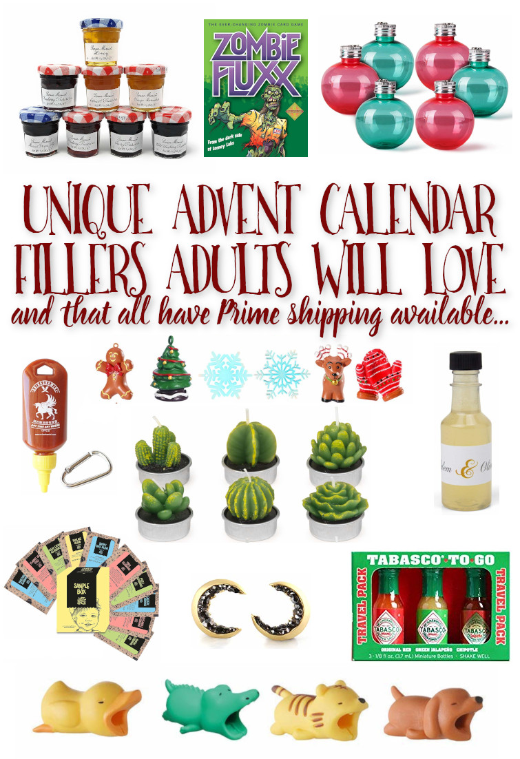 Still looking for Advent Calendar fillers for a friend, partner, or yourself? Here are some great ideas! #AdventCalendar #GiftsforAdults
